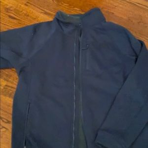 Men's north face Sherpa lined zip up size M
